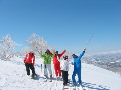 ゴールデンウィーク 春スキー