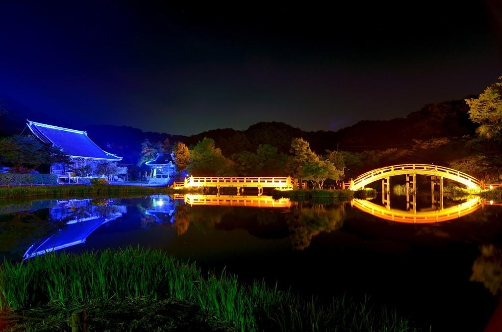 GW2015 イベント 称名寺ライトアップ