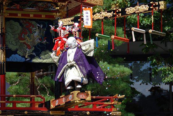 高山祭2015 からくり人形