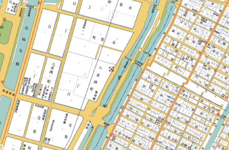 GW 穴場 東京駅 古地図