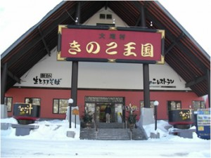 GW おすすめスポット 北海道 穴場 きのこ王国