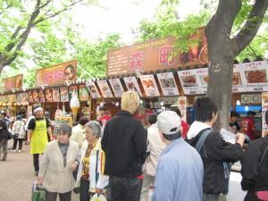 YOSAKOIソーラン祭り 2015 日程 見どころ 雨天 飲食