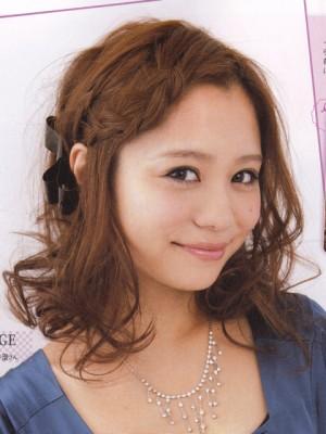 結婚式 髪型 ミディアム おすすめ アレンジ