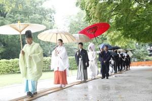 キーワード 雨の日 結婚式 準備