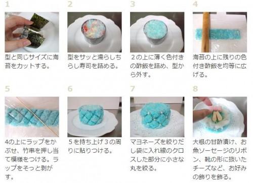 父の日 料理 メニュー レシピ 寿司4