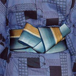 浴衣 男 帯 種類 結び方 角帯