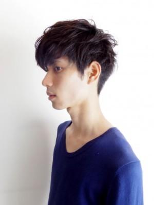 大学生 男子 髪型 モテ ソフトツーブロック