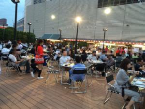 ビアガーデン 2015 東京 屋上 京王百貨店「京王アサヒスカイビアガーデン