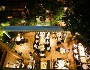 ビアガーデン 2015 東京 女子会 デート おしゃれ ガーデンレストラン コフレドール(ホテルローズガーデン新宿)