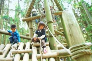 シルバーウィーク 2015 子連れ 関西 六甲山フィールド・アスレチック