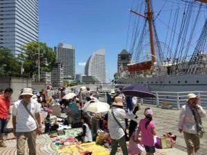 シルバーウィーク 2015 イベント 横浜 みなとみらい21日本丸メモリアルパークフリーマーケット