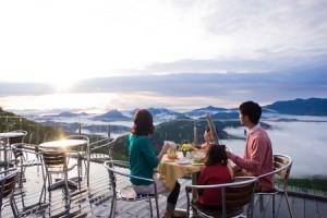 シルバーウィーク 2015 国内旅行 おすすめ 雲海カフェ