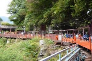 シルバーウィーク 2015 国内旅行 おすすめ トロッコ列車