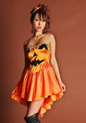 ハロウィン 仮装 衣装 可愛い コスチューム カボチャ