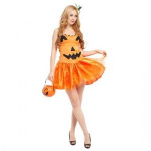 ハロウィン 仮装 大人 アイディア かぼちゃ