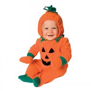 ハロウィン 仮装 子供 アイディア パンプキン 赤ちゃん