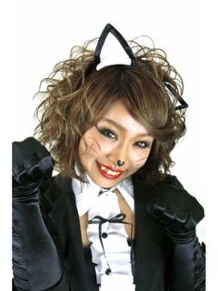 ハロウィン 髪型 ヘアアレンジ 簡単 可愛い 長さ別猫耳