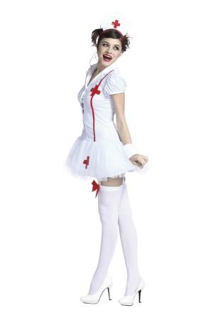 ハロウィン 仮装 衣装 メイク ナース 黒ナース 白ナース