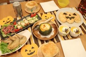 ハロウィン パーティー ゲーム 料理メニュー 飾り付け アイデア テーブル