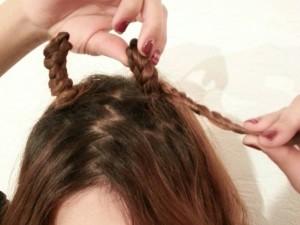 ハロウィン 髪型 ヘアアレンジ 簡単 可愛い 長さ別 デビル