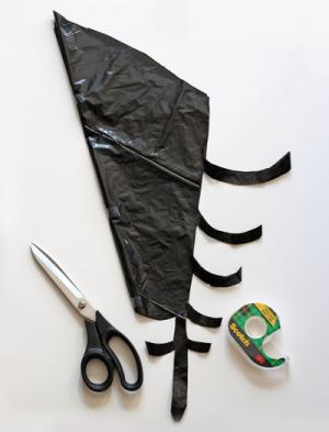 ハロウィン 蜘蛛の巣 作り方 毛糸 折り紙 切り方