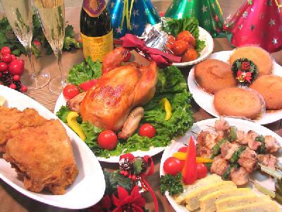 クリスマスパーティー 企画 料理