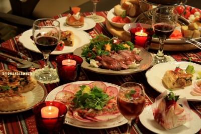 大学生 クリスマスパーティー 料理